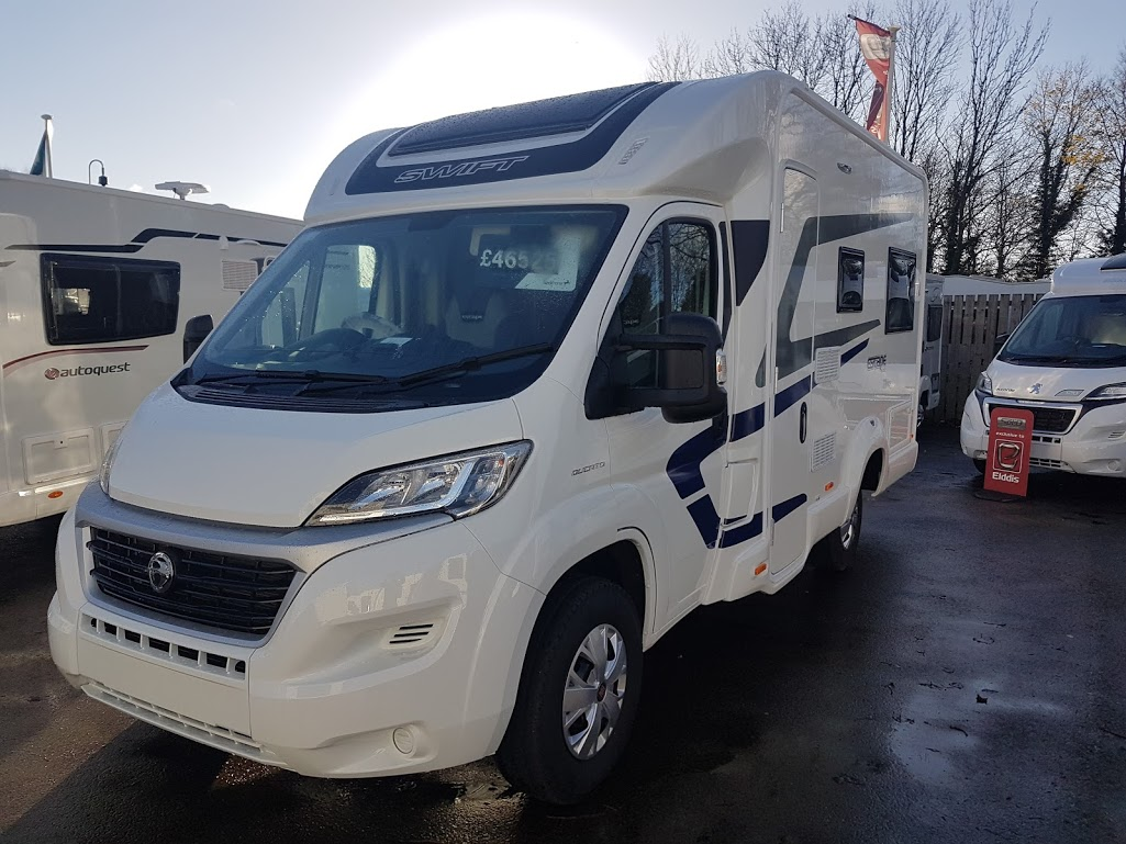 2018 Swift Escape 622 Fiat Ducato 2.3 130 Multijet