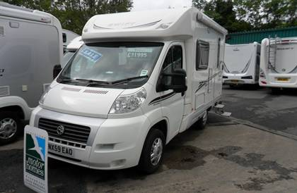 Swift Sundance 530LP Fiat Ducato 2.2 Multijet