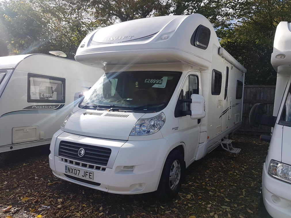 Swift Sundance 630L Fiat Ducato 2.3 130 Multijet