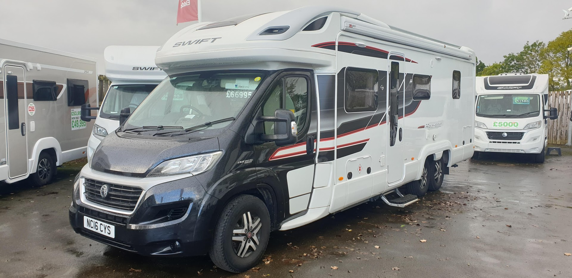Swift Kontiki 669 Fiat Ducato 3.0 180 Multijet AUTOMATIC