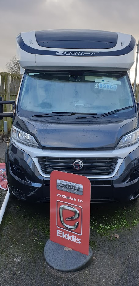 2020 Swift Kontiki 625 Fiat Ducato 2.3 150 Multijet