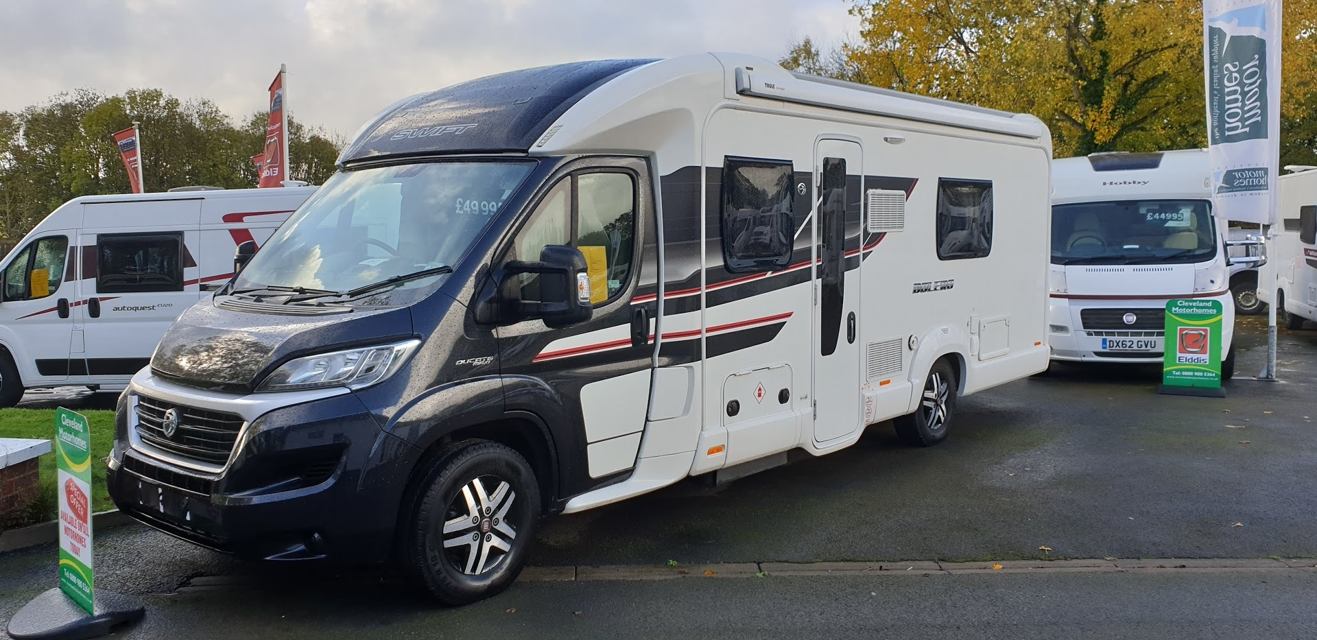 Swift Bolero 724FB Fiat Ducato 2.3 150 Multijet
